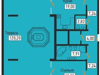 Продажа квартир: 3-комнатная квартира, Краснодар, ул. Дмитриевская Дамба, 41, фото 1