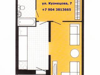 Продажа квартир: 1-комнатная квартира, Екатеринбург, ул. Кузнецова, 7, фото 1