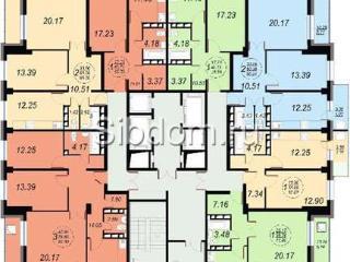 Продажа квартир: 3-комнатная квартира в новостройке, Красноярск, ул. им Академика Вавилова, 14, фото 1