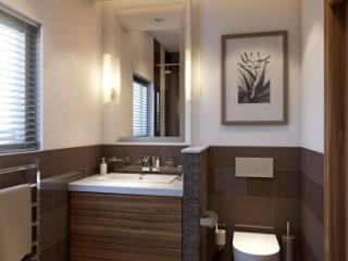 Badezimmer Holzwand Bilder