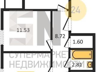 <strong>1 844 370</strong> <span class='icon-rub'><b>руб.</b></span><br />   2к-квартира, 55.9&nbsp;м&sup2; 2&nbsp;этаж