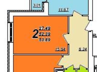 Продажа квартир: 2-комнатная квартира в новостройке, Владимир, мкр. Юрьевец, Ноябрьская ул., 41А, фото 1