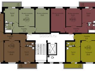 Продажа квартир: 2-комнатная квартира, Красноярский край, Сосновоборск, Солнечная ул., 14, фото 1