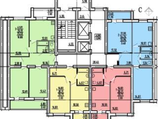 Продажа квартир: 3-комнатная квартира в новостройке, Пензенская область, Пенза, ул. Рахманинова, фото 1