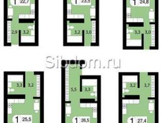 Продажа квартир: 1-комнатная квартира в новостройке, Красноярск, ул. Вильского, 2, фото 1