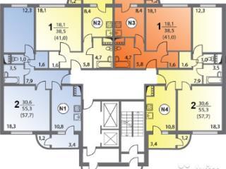 Продажа квартир: 1-комнатная квартира, Калуга, Сиреневый б-р, 4, фото 1