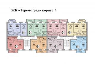Продажа квартир: 2-комнатная квартира, Краснодарский край, Горячий Ключ, п. Октябрьский, ул. Мира, 133, фото 1