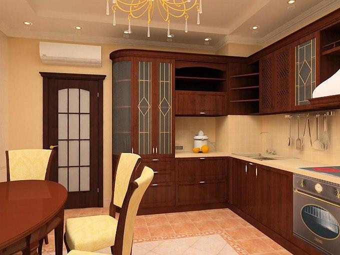 Дизайн кухни в квартирах-фото