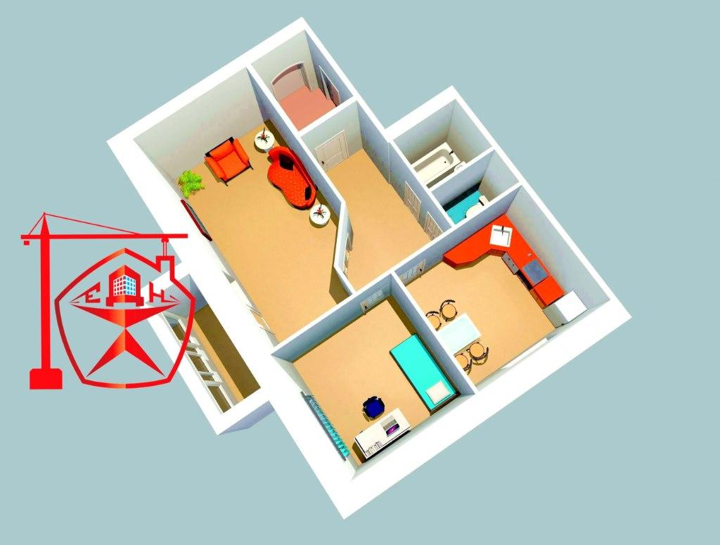 Продажа квартир: 2-комнатная квартира, Курск, Союзная ул., фото 1
